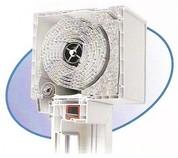 Miniaufsatzkasten, Insektenschutz-Rollo, Elektroantrieb